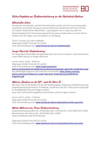 2020_06 Online Angebote zur Studienorientierung der Hochschule Bochum Kopie