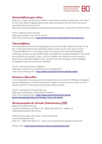 2020_06 Online Angebote zur Studienorientierung der Hochschule Bochum Kopie2